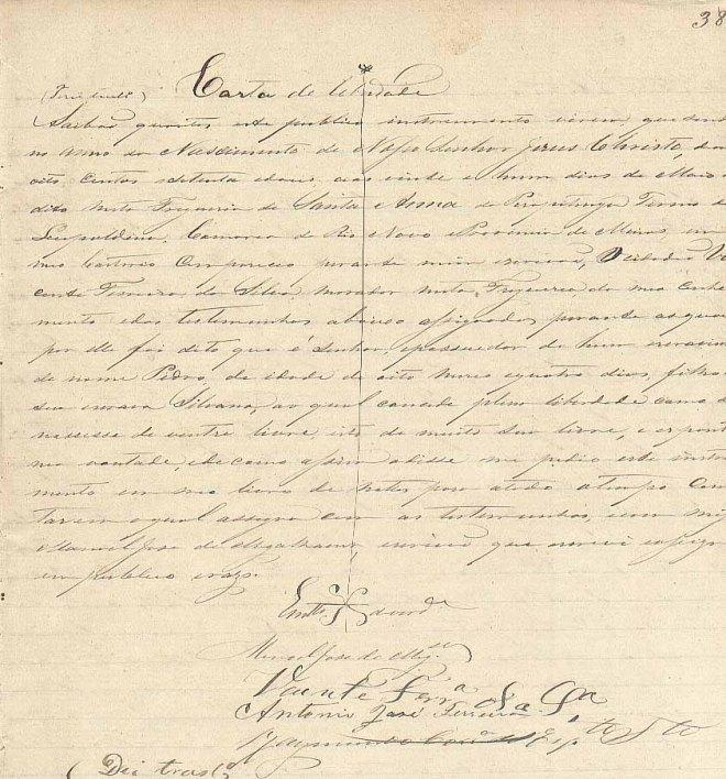 Carta de Liberdade