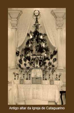 Antigo altar da Igreja de Cataguarino