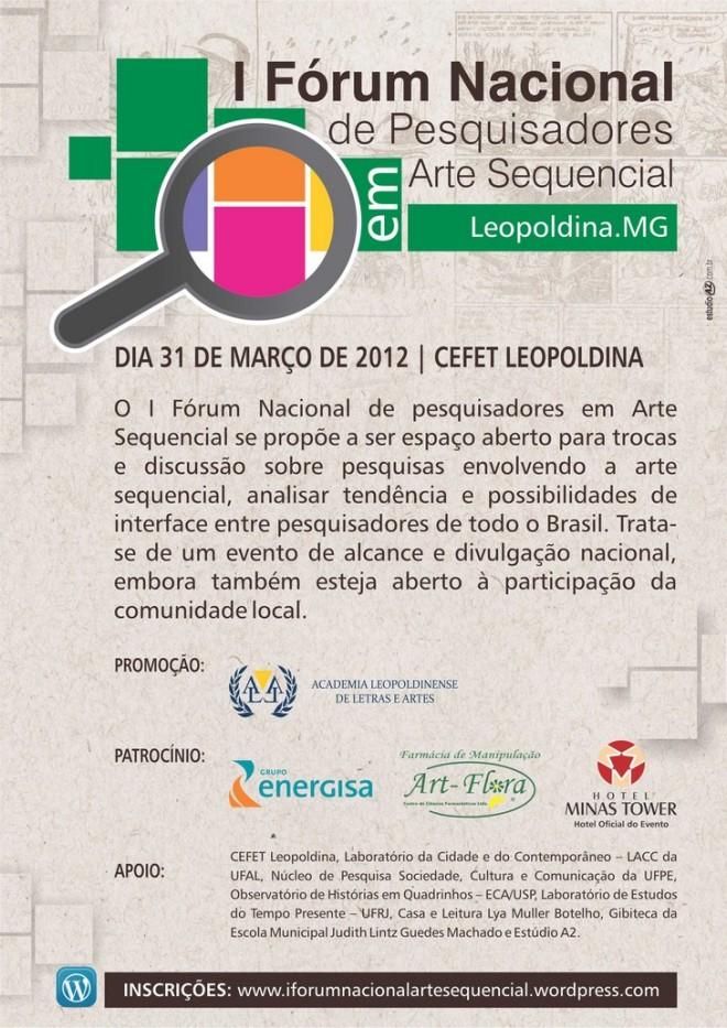 Forum Arte Sequencial em Leopoldina