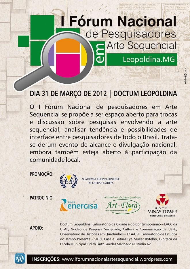 Leopoldina sedia fórum de Arte Sequencial