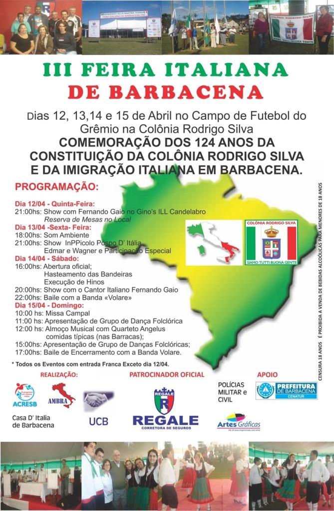 124 anos da Colônia Rodrigo Silva