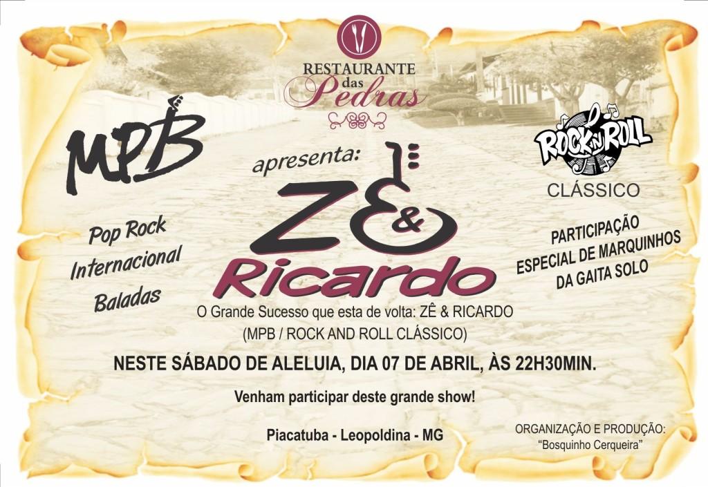 Show no Restaurante das Pedras, Piacatuba