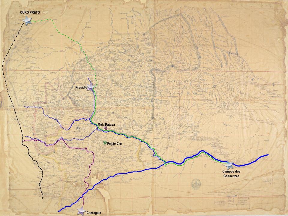 Estrada Presídio-Campos