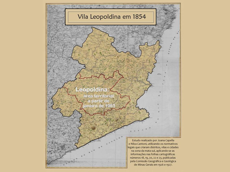 Vila Leopoldina em 1854