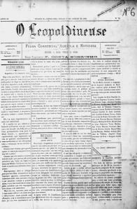 O Leopoldinense, o mais antigo jornal de Leopoldina.