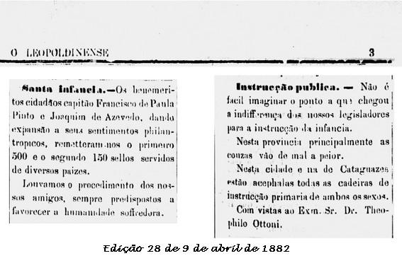 Notícias do jornal O Leopoldinense