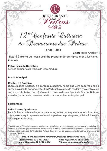 Sábado Gourmet 17 maio 2014