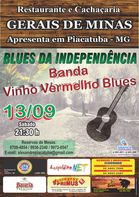 Banda Vinho Vermelho em Piacatuba