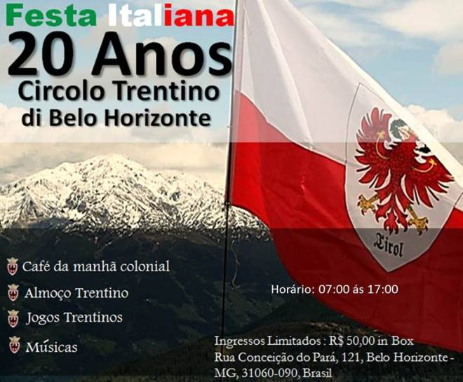 20 anos do Circolo Trentino em BH