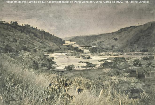 Paisagem do Porto Velho do Cunha