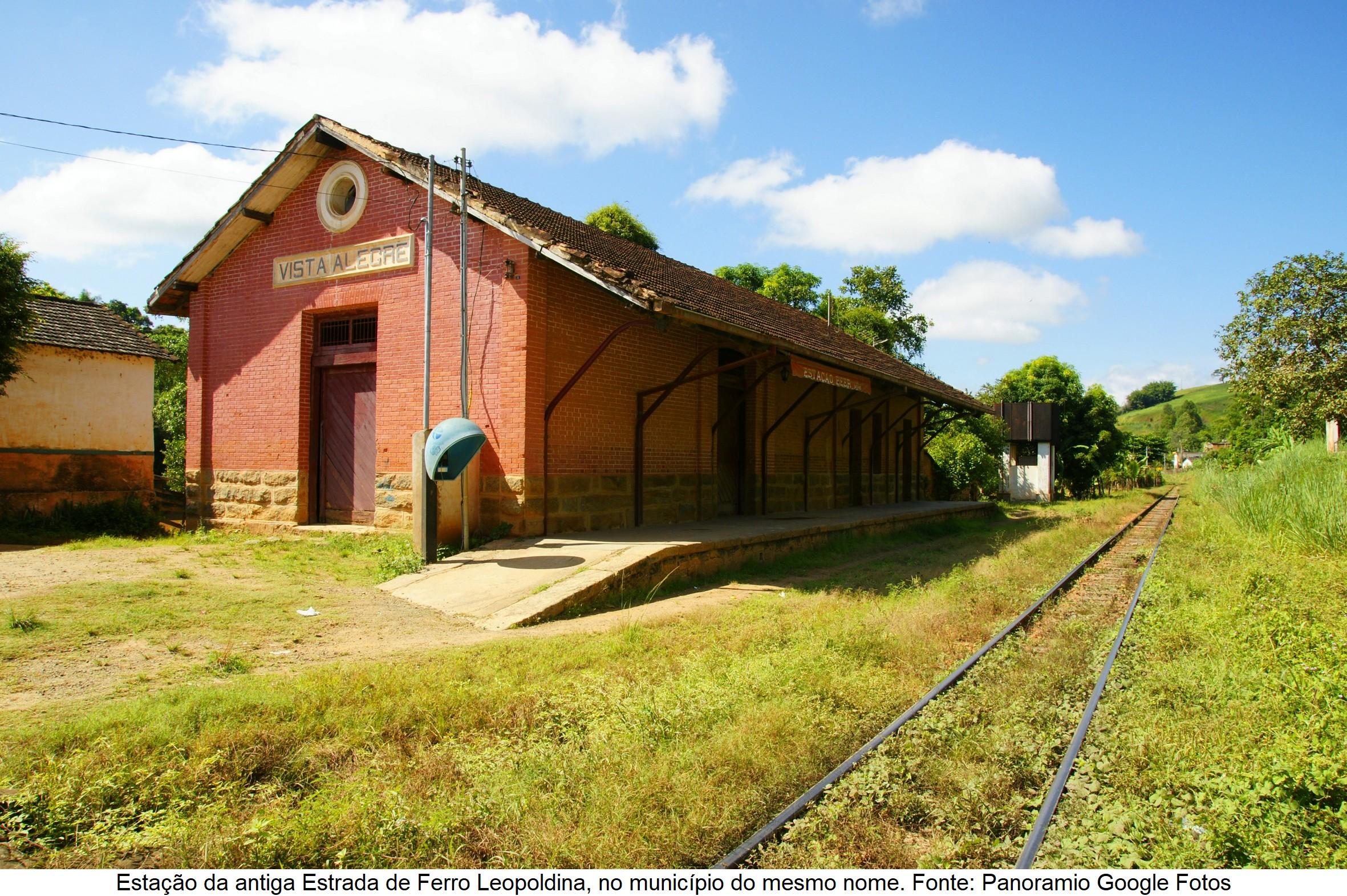 Estação da Estrada de Ferro Leopoldina