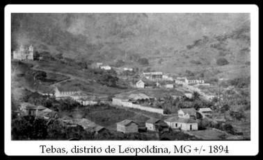 Tebas, distrito de Leopoldina, MG - +/- 1894